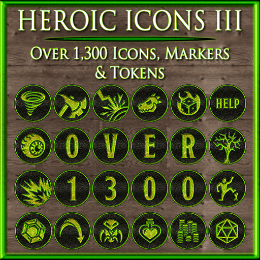 Heroic Icons: Black Dragon