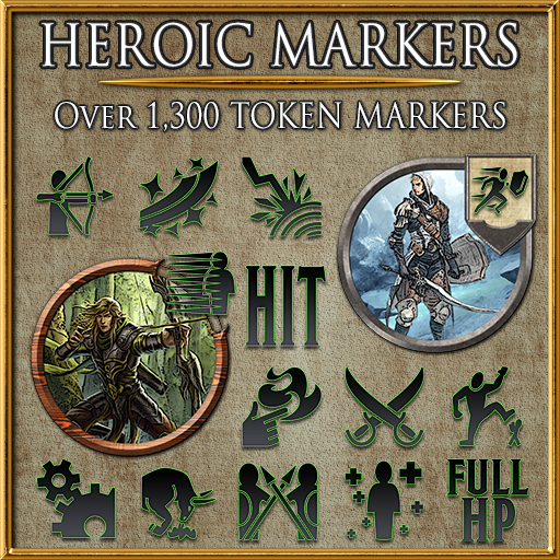 Heroic Markers: Black Dragon (Part 1)