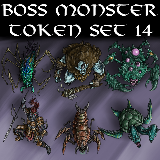 Boss Monster Token Set 14