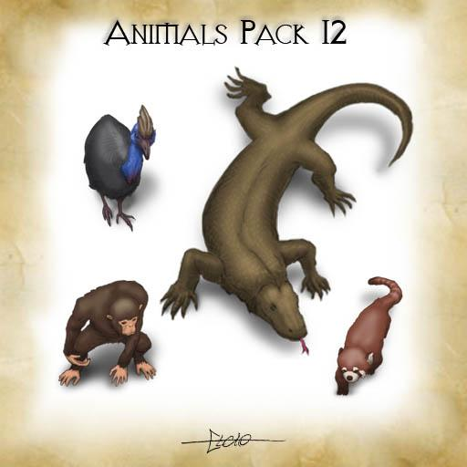 Animals - Pack 12