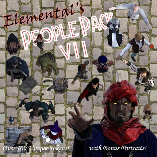Elemental's People Pack 7