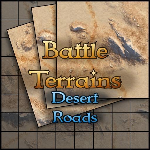 Battle Terrains Desert Roads