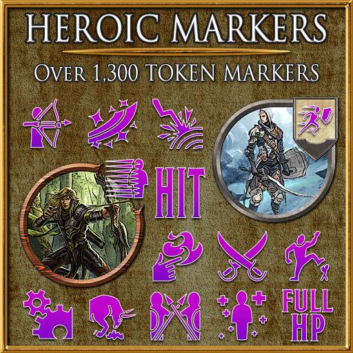 Heroic Markers: Pink & Purple (Part 2)