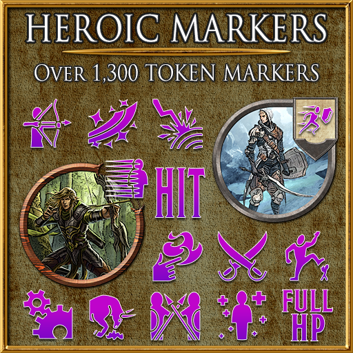 Heroic Markers: Pink & Purple (Part 3)
