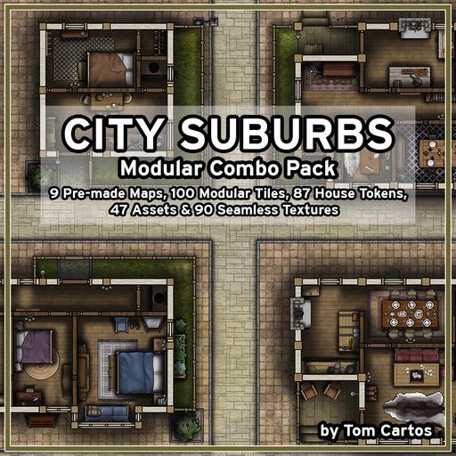 City Suburbs Modular Pack
