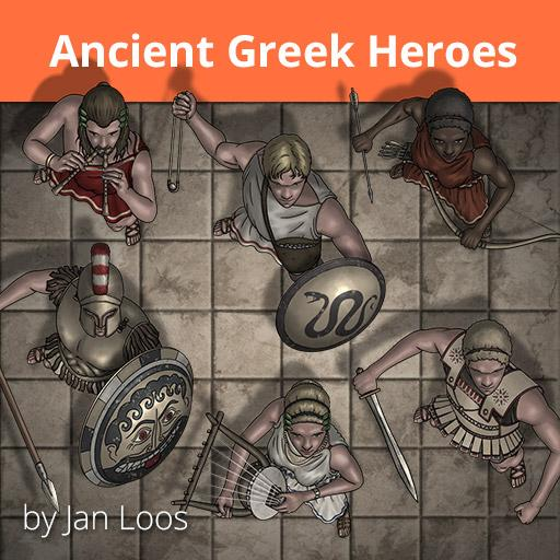 Jans Token Pack 16 - Ancient Greek Heroes