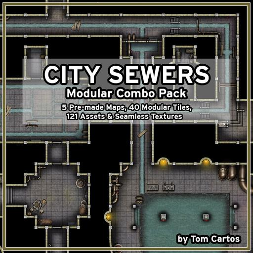 City Sewers Modular Pack