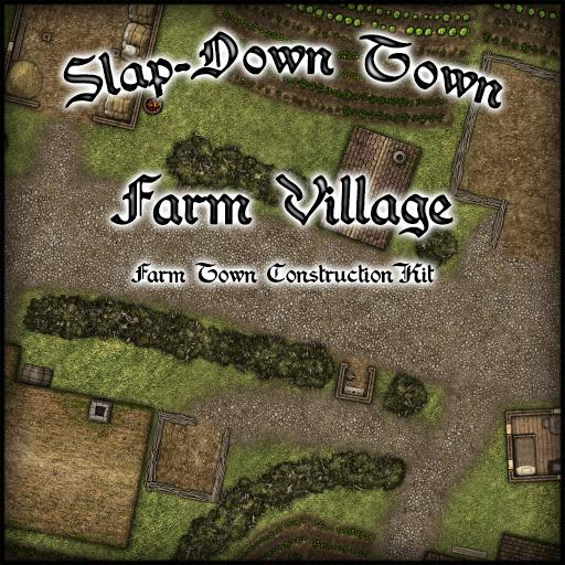 Slap-Down Town Farm Village