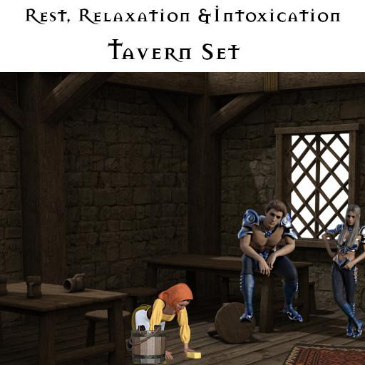 Rest, Relaxation & Intoxication: Tavern set