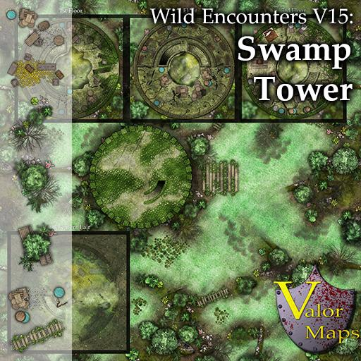 Wild Encounters V15: Swamp Tower
