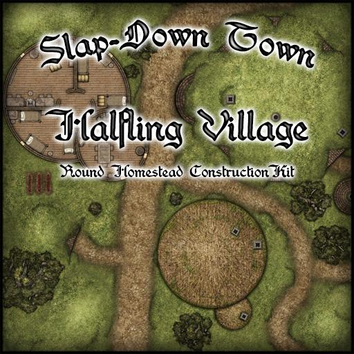 Slap-Down Town Halfling Village