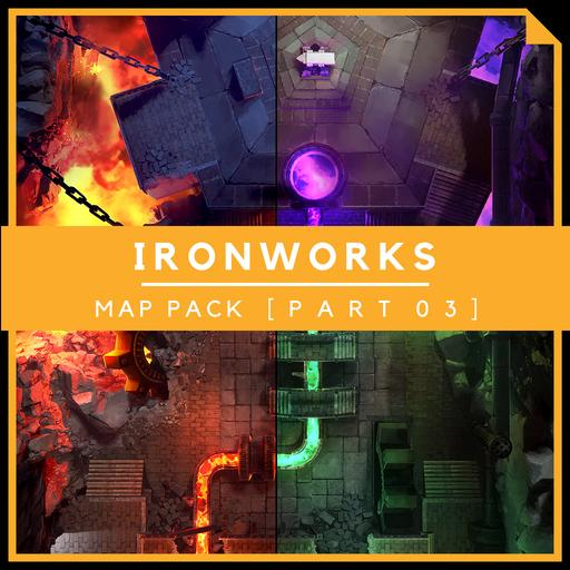 IronWorks [Part 3] - Battlemap