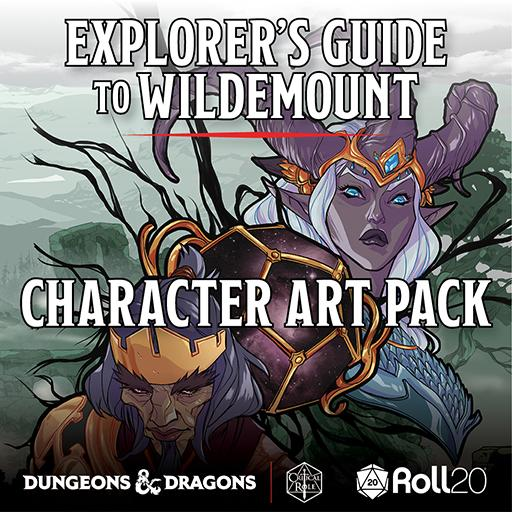 Explorer's Guide to Wildemount - Character Art Pack