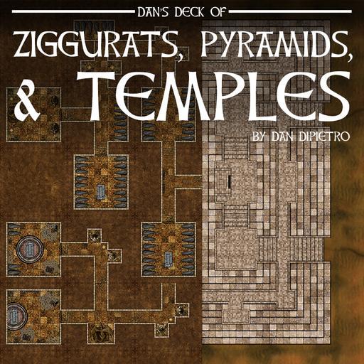 Dan's Deck of Ziggurats, Pyramids, & Temples