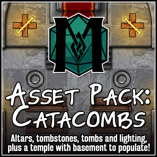 Asset Pack: Catacombs