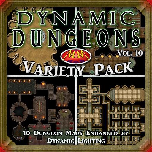 Dynamic Dungeons V10 Variety Pack