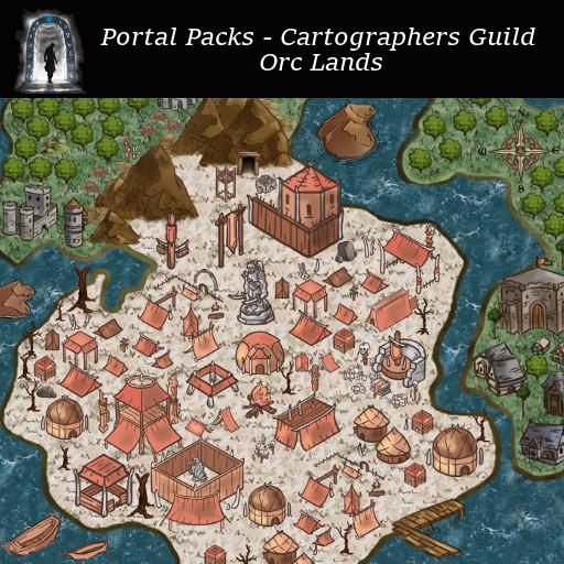 Portal Packs - Cartographers Guild - Orc Lands