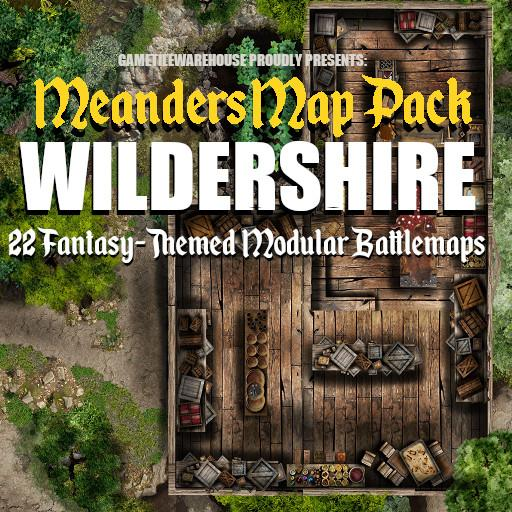 Meanders Map Pack FANTASY CITY - WILDERSHIRE