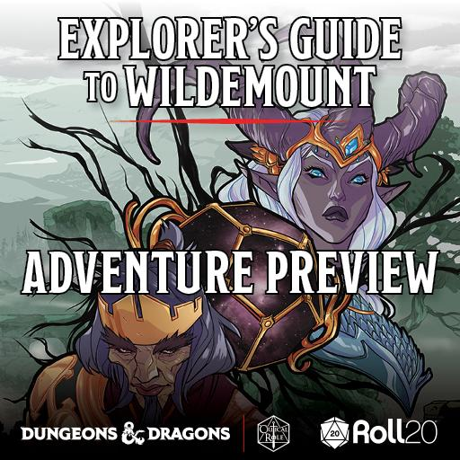 Adventure Preview - Explorer's Guide to Wildemount