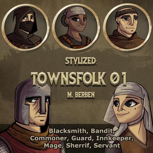 Stylized: Townsfolk 01