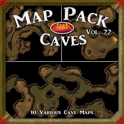 Map Pack V22 Caves