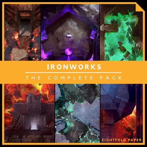 IronWorks [The Complete Pack] - Battlemap