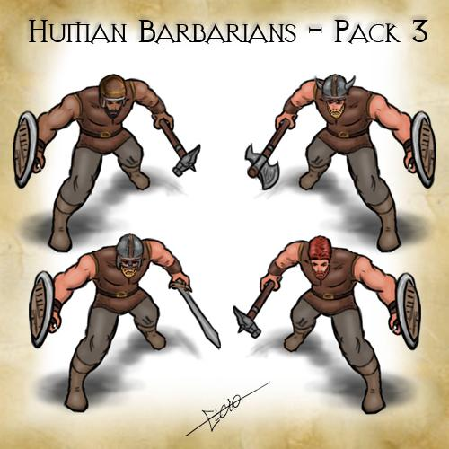 Human-Barbarians-Pack-3