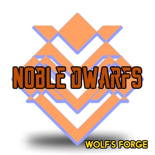 Fantasy Noble Dwarfs Token set