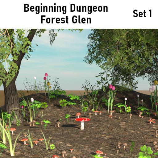 Beginning Dungeon: Forest Glen Set 1