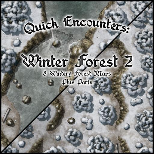 Quick Encounters: Winter Forest 2