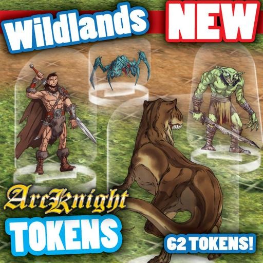 Arcknight Tokens - Wildlands
