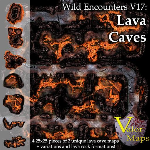 Wild Encounters V17: Lava Caves