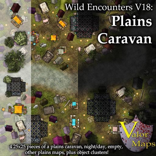 Wild Encounters V18: Plains Caravan
