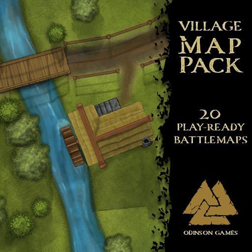 Odinson's Map Pack: Village