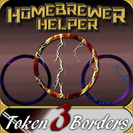 Homebrewer Helper Token Borders 3