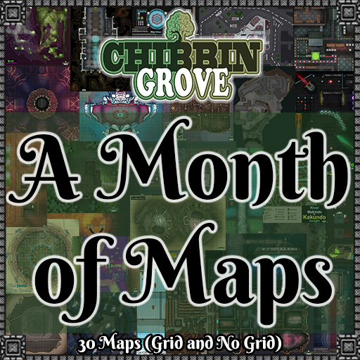 Chibbin Grove: A Month of Maps