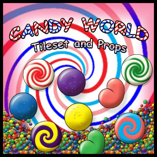 Candy World Tileset and Props