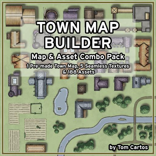 Town Map Combo Pack