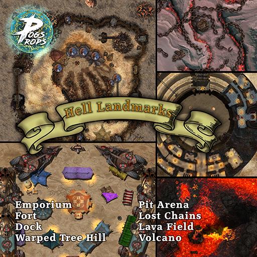 Hell Landmarks