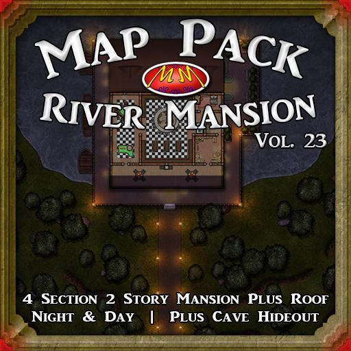 Map Pack V23 River Mansion
