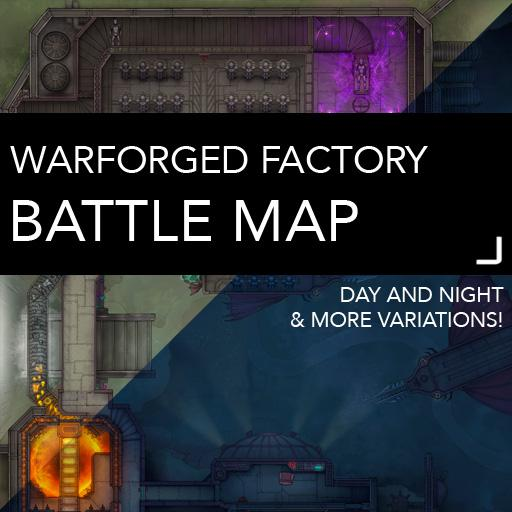 Warforged Factory Battlemaps
