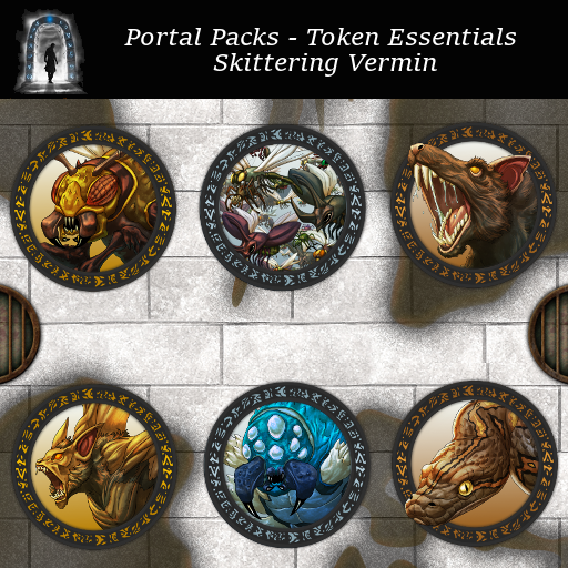 Portal Packs - Token Essentials - Skittering Vermin