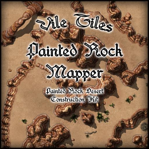 Vile Tiles: Painted Rock Mapper