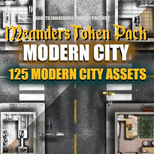 Meanders Token Pack 7 - MODERN ASSETS