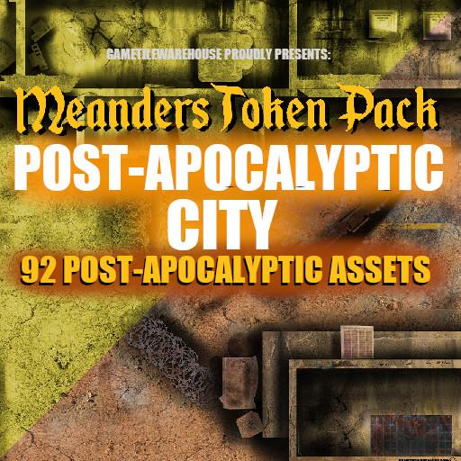 Meanders Token Pack 8 - POST APOCALYPTIC ASSETS