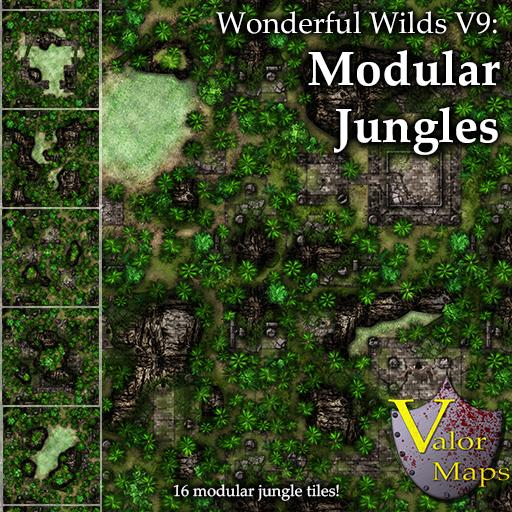 Wonderful Wilds V9: Modular Jungles