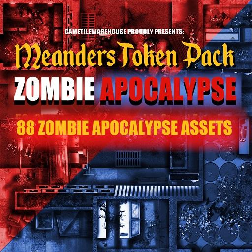 Meanders Token Pack 9 - ZOMBIE APOCALYPSE ASSETS