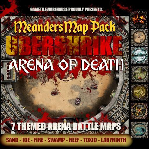 Meanders Map Pack UBERSHRIKE ARENA