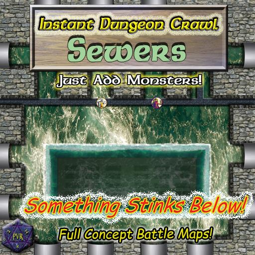 Instant Dungeon Crawl: Sewers