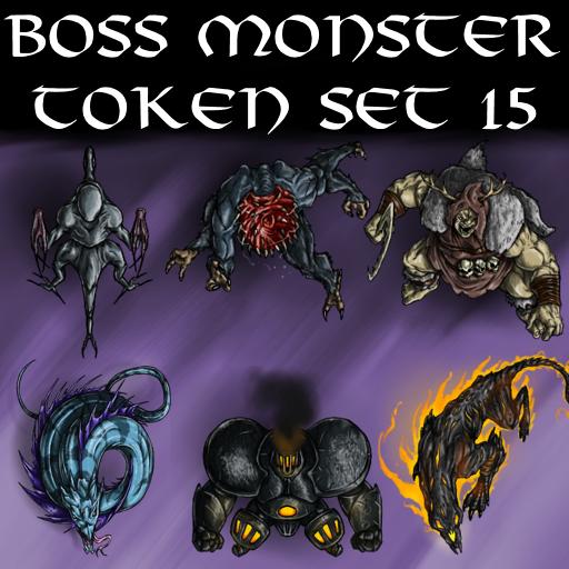 Boss Monster Token Set 15